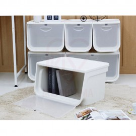 Large Stylish Storage Box with Magnetic Flap Door (SFLP-BOX L)