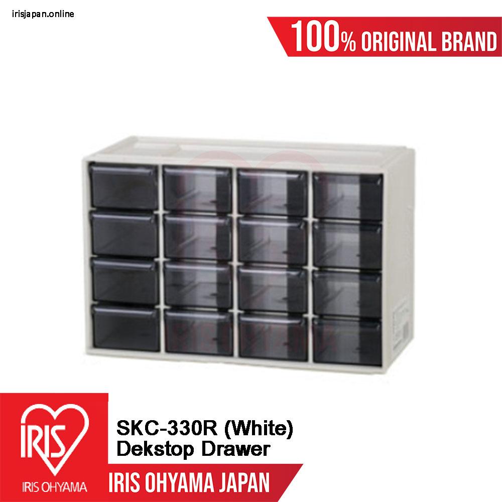 SKC-330R (White) = 1 UNIT Desktop Mini Drawer Organiser