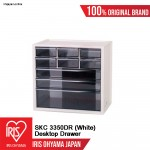 SKC-3350DR (White) = 1 UNIT Desktop Mini Drawer Organiser