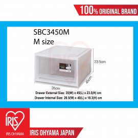 Medium Single Storage Drawer (White) SBC3450M