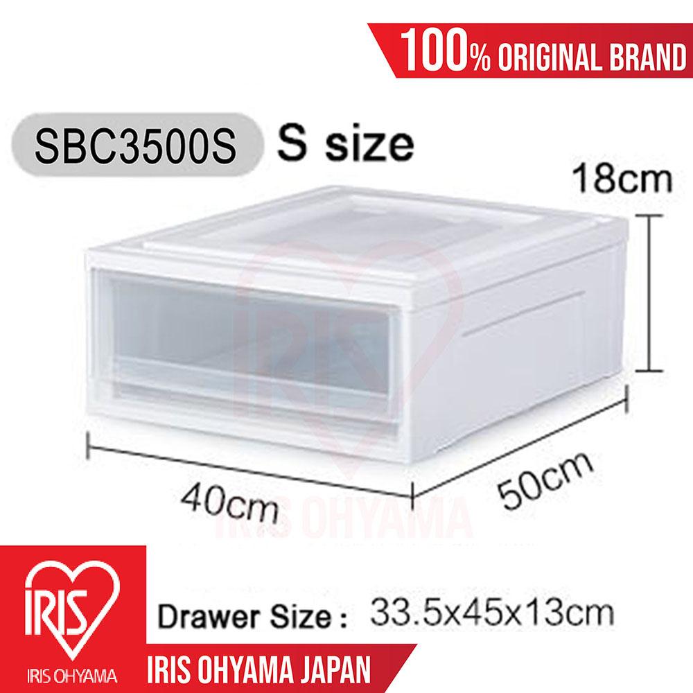 Small Single Storage Drawer (White) SBC3500S