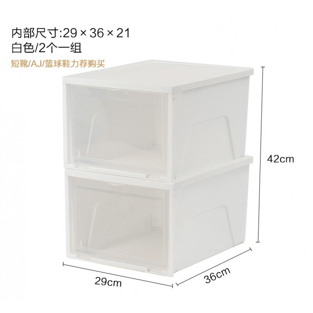 SNSB-3360 = 1 UNIT Multi Shoe Box - Japan style Large Multi Storage Box Ladies Shoe Box